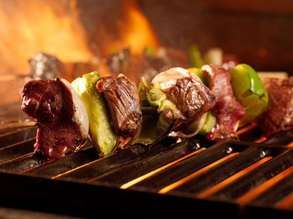 The Different Delicacies On A Single Grill