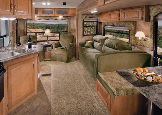 Typical Layout Of An RV