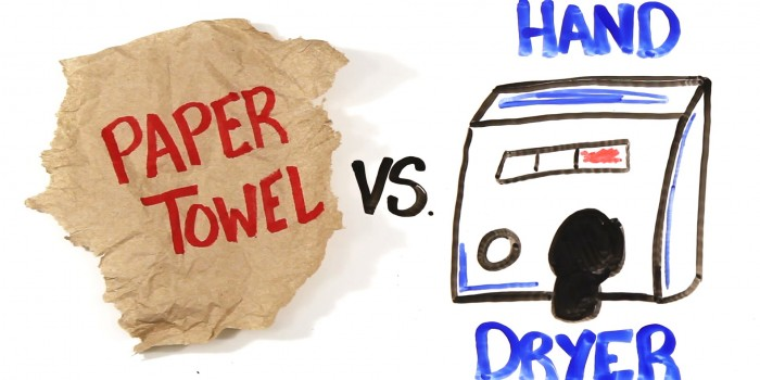 Electric Hand Dryers Vs Paper Towels – An Obvious Choice?