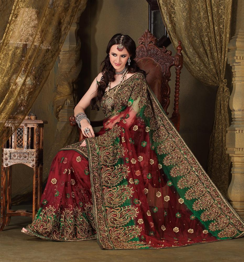 Brides from Different States Of India Choose Different Wedding Sarees