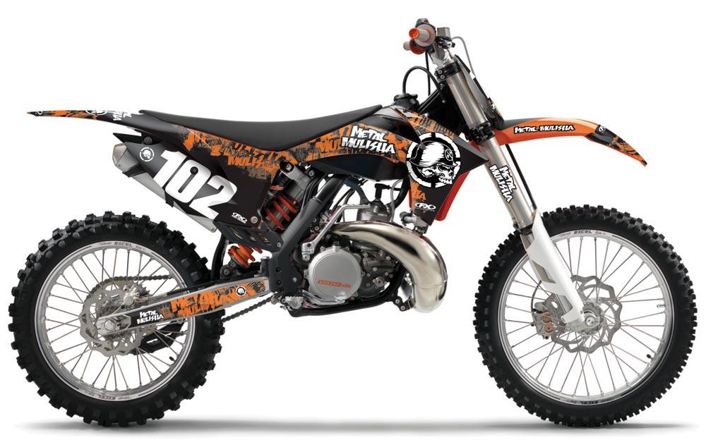 Graphic Designs and Kits For HONDA MX Bikes